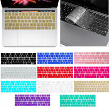 """Silicone Laptop Keyboard Cover Skin for Macbook Pro 13/15"""" with Touch Bar (2016)"""