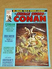 CONAN SAVAGE SWORD OF #17 MARCH 1979 MARVEL BRITISH MONTHLY^