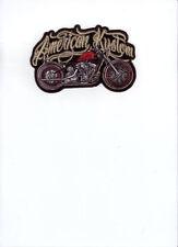 Écussons et patches custom pour motocyclette