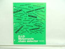 Did Motorcycle Chain Selector Honda Suzuki Ajs Ducati Jawa Yamaha Norton L11884