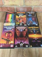 Star Trek Original Films VHS Bundle Films 1-6