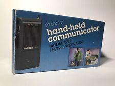 Vintage Maxon 1986 Hand-held Communicator 49-H Two-way FM Radio Superheterodyne