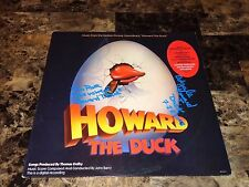 Howard The Duck Rare Cast Signed Movie Soundtrack Vinyl Record Ed Gale Tim Rose