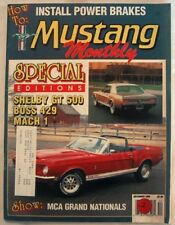 MUSTANG MONTHLY 1988 DEC - '69 BOSS 429S, SUBFRAME