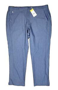NEW FIGS Technical Collection Stretch Corinto Scrub Pants Heather Denim Rare 2XL