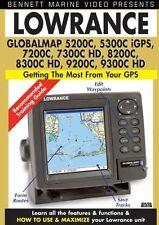 Lowrance GlobalMap 5200C; 5300C iGPS, 7200C; 7300C HD, 8200C, 8300C HD, 9200C, 9