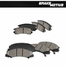 Front And Rear Ceramic Brake Pads For Chevy Monte Carlo Impala LS LT LTZ SS