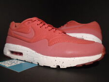 NIKE AIR MAX 1 ULTRA MOIRE TERRA RED WHITE REFLECTIVE PINK 90 705297-611 10.5