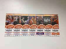 2016 Clemson Football Ticket Stubs
