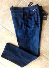 Daniel Cremieux Premium Denim Jeans Mens 38 34 Straight Fit Dk Wash Stretch NWT