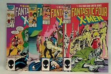 Fantastic Four vs the X-Men #1-,4  Terry Austin, Chris Claremont, Jon Bogdanove
