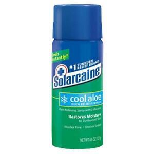 Solarcaine Cool Aloe Burn Relief