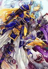Dissidia Final Fantasy Doujinshi Comic Manga Mr. Hamlet Garland Warrior of Light