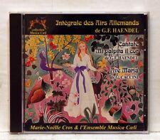 MARIE-NOELLE CROS - HANDEL cantata CACCINI ave maria MUSICA COELI CD NM