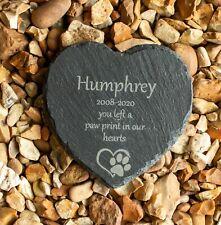 More details for personalised pet memorial plaque - grave marker - dog, cat, rabbit, hamster etc.