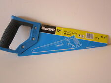 """BERENT HAND SAW. 12"""" - 300mm. TEFLON SURFACE TREATED. 200mm RULER ALONG TOP."""