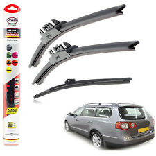 "VW Passat 2005-2011 HEYNER SUPER FLAT PREMIUM wiper blades 24""19""11""V"