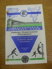 20/02/1965 Chesterfield v Lincoln City  (Adhesive Marks).  Any faults with this