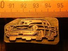 CHEVROLET BEL AIR  schöner Oldtimer Stempel / Siegel aus Metall