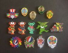 Grateful Dead Steal Your Face Pin Bassnectar HatPin Mushroom Dancing Bears (one)