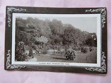 Vintage 1911 Peckham Rye Park Flower Beds Real Photo Postcard