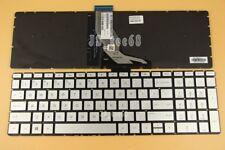 New for HP 17-bs001ds 17-bs002cy 17-bs002ds 17-bs003cy Keyboard US Backlit Silve