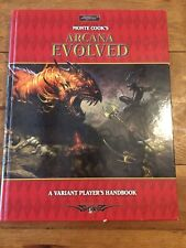 Monte Cooks Arcana Evolved: A Variant Players Handbook D&D Sword & Sorcery 3rd