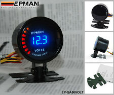 Manometre Voltmetre EPMAN DIGITAL NOIR diametre 52mm NEUF avec Support, Tuning
