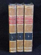 LIVRES 3 TOMES THEOLOGIA DOGMATICA  TANQUEREY TORNACI NEO EBORACI CHICAGI (C13)