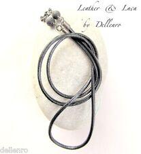 ✫ Leather & Lava ✫ Para Hombre recetadas gafas gafas gafas Cadena titular soporte de cable