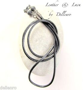 ✫LEATHER & LAVA✫MENS EYEGLASS GLASSES SPECTACLES CHAIN HOLDER  HOLDER CORD