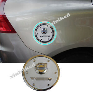 For Volvo XC60 2009-2017 Chrome Car External Gas Cap Fuel Tank Cover Trim