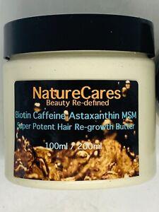 NC Biotin Caffeine MSM Fenugreek Super-Potent Hair Re-Growth Butter Unisex SALES