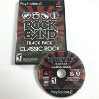 Rock Band Track Pack: Classic Rock (Sony PlayStation 2, 2009) PS2 Complete