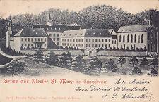 AK-ALSACE-Gruss de monastère saint-Marx chez geberschweier - 1903