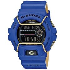 Casio G-Shock GLS-6900-2 Purple & Beige Face Protector Mens Digital Sports Watch