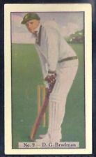 ALLEN (AUSTRALIA)-CRICKET (COLOURED) 1938-#09- SOUTH AUSTRALIA - DON BRADMAN