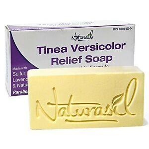 Naturasil Homeopathic Remedies Tinea Versicolor 10% Sulfur Soap - 4 Ounce Bar