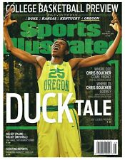 2016 Sports Illustrated NCAA College Basektball Preview Oregon Chris Boucher!