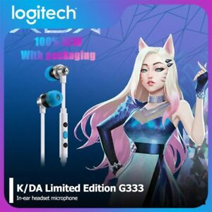 Logitech G333 KDA Gaming Headphones Limited Edition  *FREE SHIPPING*