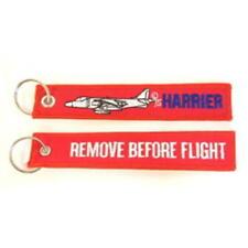 REMOVE BEFORE FLIGHT KEYRING - Harrier