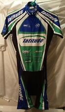 Pactimo Green/Bike Bike Racing Cycling Polyester/Spandex One-Piece Suit Mens S