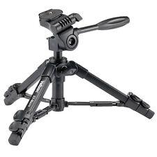 Velbon D-SLR RF Mirrorless Kamera Table Top Mini Tripod Stativ EX-Macro w/ Case