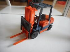 Yonezawa Toys Diapet Toyota Fork lift Truck in Orange/Dark Blue