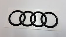 Audi Rs5 Coupe 2010-2016 Black Edition Tailgate Trunk Logo Rings 8K5853301