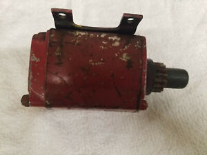 USED Genuine Tecumseh DC Electric Starter Rototiller Snowblower 8HP and Up