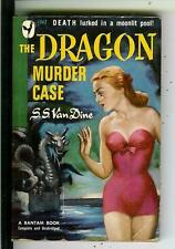 THE DRAGON MURDER CASE by van Dine rare US Bantam #362 crime gga pulp vintage pb
