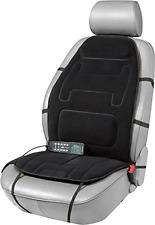 Lower Back Lumbar Massage Cushion With Heated Plush Memory Foam Car Seat Chair