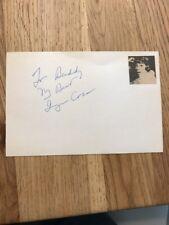 Authentic Hand Signed UACC Vintage Autograph Of Imogen Coca - Book