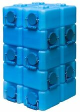 3.5 Gallon Water Storage BPA Free WaterBrick Container Pack Of 10 Stackable